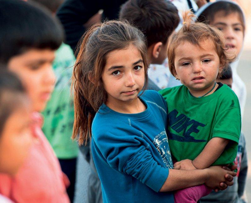 Rund jedes fünfte Flüchtlingskind leidet unter einer posttraumatischen Belastungsstörung. Foto: picture alliance
