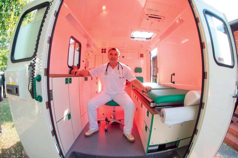 Mobile Arztpraxis: Eine Mehrheit der Niedersachsen wäre bereit, ein solches Versorgungsangebot zu nutzen. Foto: dpa