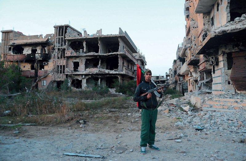 Bengasi: In der Hafenstadt im Nordosten Libyens kommt es auch jetzt immer noch zu Kämpfen. Sie konzentrieren sich auf Gebiete im Norden und Südwesten der Stadt. Foto: picture alliance