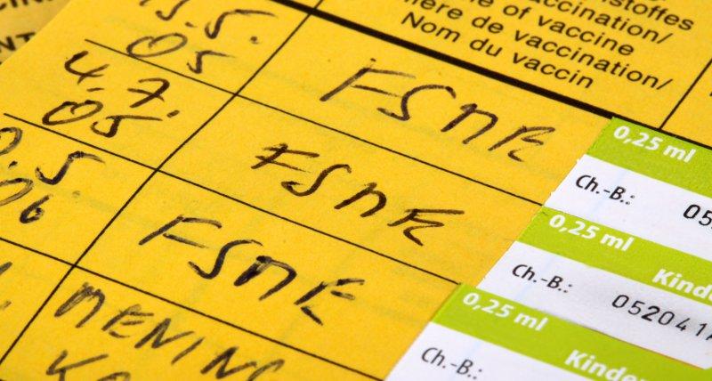 Impfpass mit FSME-Eintrag/Klaus Eppele, stock.adobe.com
