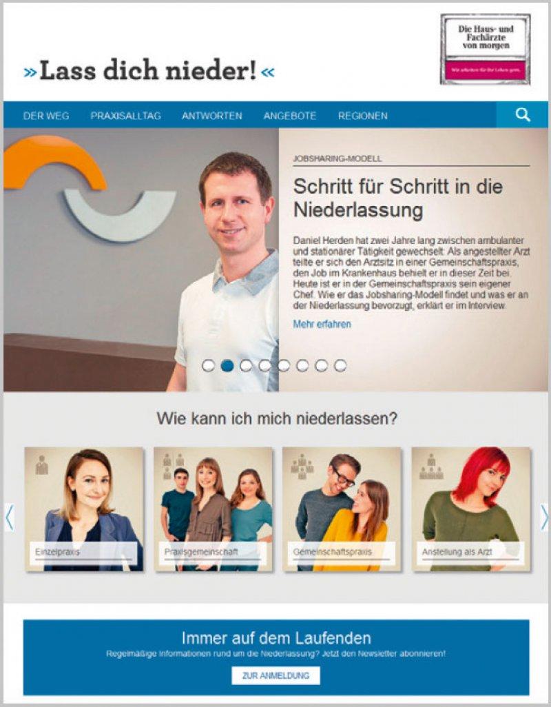"""Das Portal startete 2014 als Teil der Nachwuchsoffensive im Rahmen der Kampagne """"Wir arbeiten für Ihr Leben gern!""""."""