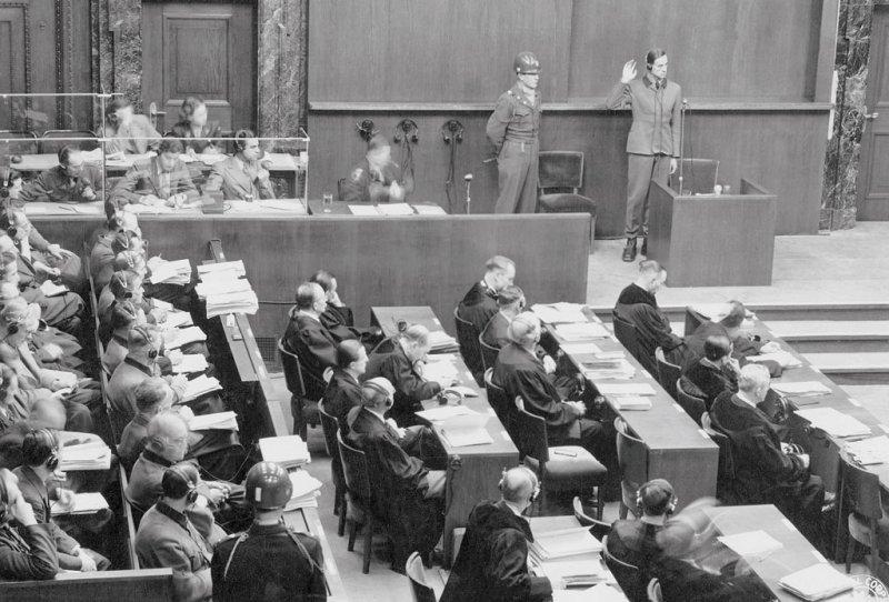 23 Ärzte und Gesundheitsbeamte waren im Nürnberger Ärzteprozess angeklagt.
