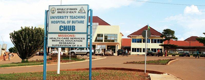 Das Butare Hospital ist seit 1966 akademisches Lehrkrankenhaus. Foto: CHUB