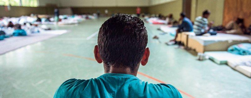 Vulnerable Bevölkerungsgruppe: Ihre Unterbringung ist für viele Geflüchtete psychisch belastend. Foto: dpa