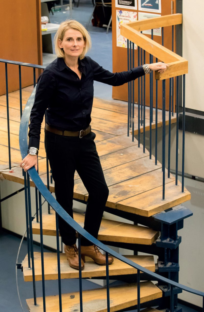 Tanja C. Vollmer, Biologin und Psychologin, leitet seit Mai 2016 den Bereich Architekturpsychologie am Institut für Architektur der Technischen Universität Berlin. Fotos: Georg J. Lopata