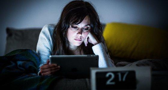 DSL-Nutzer schlafen weniger und schlechter als Menschen ohne DSL-Anschluss /dpa