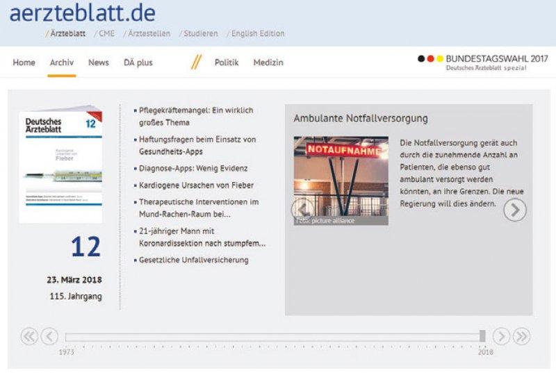 zeitreise.aerzteblatt.de
