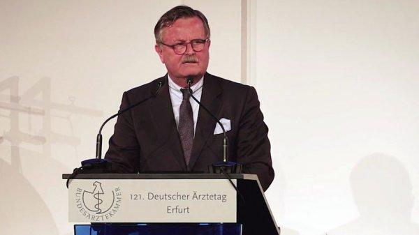 <b>Rede von Frank Ulrich Montgomery</b> auf dem 121. Deutschen Ärztetag