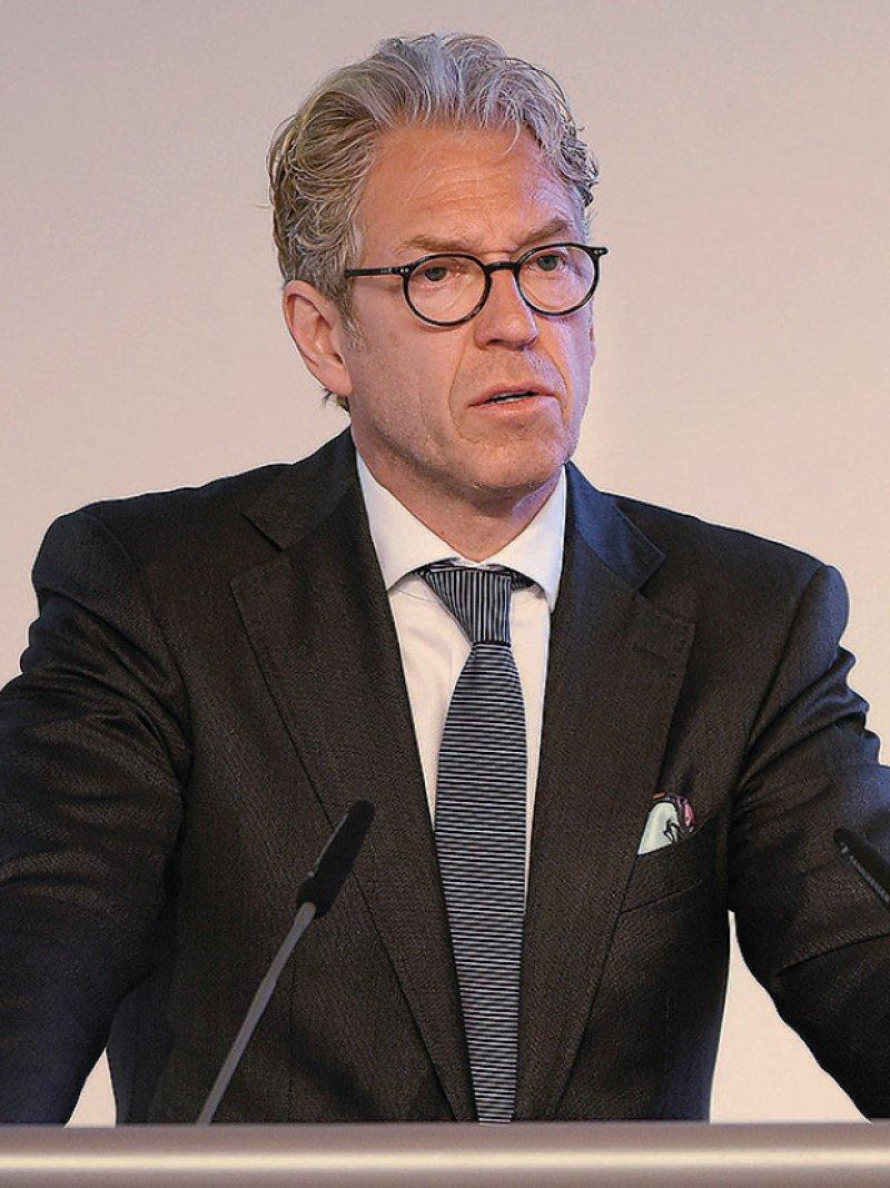 """Andreas Gassen warf den Kassen vor, die """"Zeche"""" in Bezug auf ärztliche Leistungen seit Jahren zu prellen."""