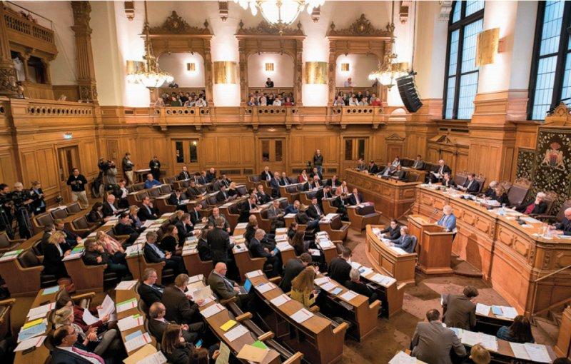Die Hamburger Bürgerschaft hat den Weg für Beamte in der gesetzlichen Krankenversicherung frei gemacht. Foto: picture alliance