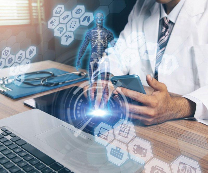Bei der Diagnose von Krankheiten lehnen es viele Deutsche ab, dass Algorithmen beteiligt sind. Foto: chombosan/stock.adobe.com