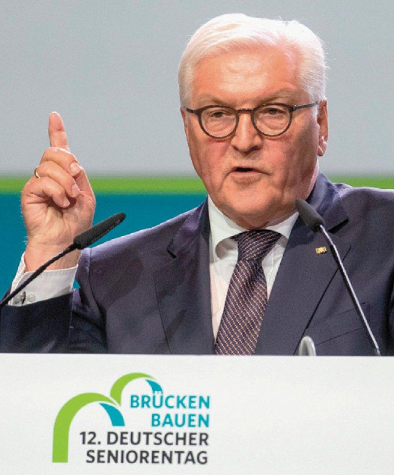 Mehr Stellen, bessere Arbeitsbedingungen und Bezahlung: Bundespräsident Frank-Walter Steinmeier mahnt die Regierung, schnell zu handeln. Foto: picture alliance