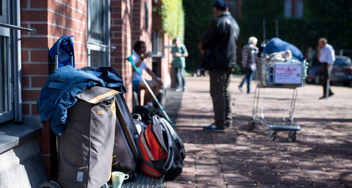 Schädel-Hirn-Trauma bei Obdachlosen häufig