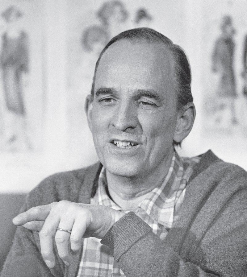 Ingmar Bergman um 1980 im Alter von etwa 62 Jahren. Foto: picture alliance