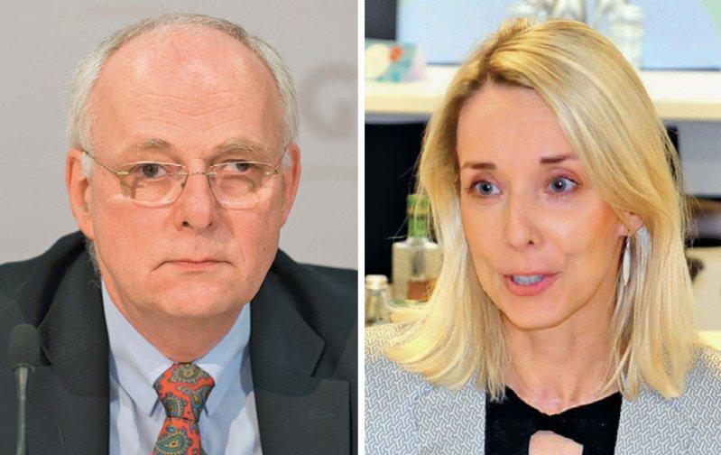 Vorstandswechsel: Stefanie Stoff-Ahnis soll auf Johann Magnus von Stackelberg folgen. Fotos: dpa