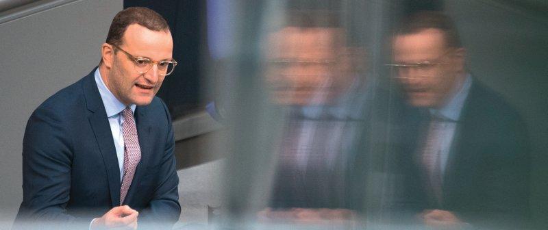 Bundesgesundheitsminister Jens Spahn in der Haushaltsdebatte: Die Koalition hat in diesem Herbst drei Gesetze auf der Agenda. Foto: dpa
