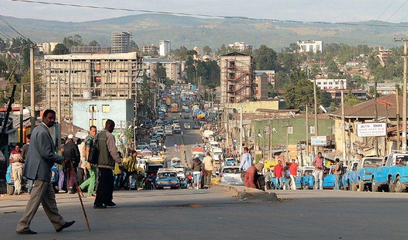 Gonder liegt auf 2 133 Metern Höhe in den äthiopischen Bergen. Foto: Stephanie von Aretin