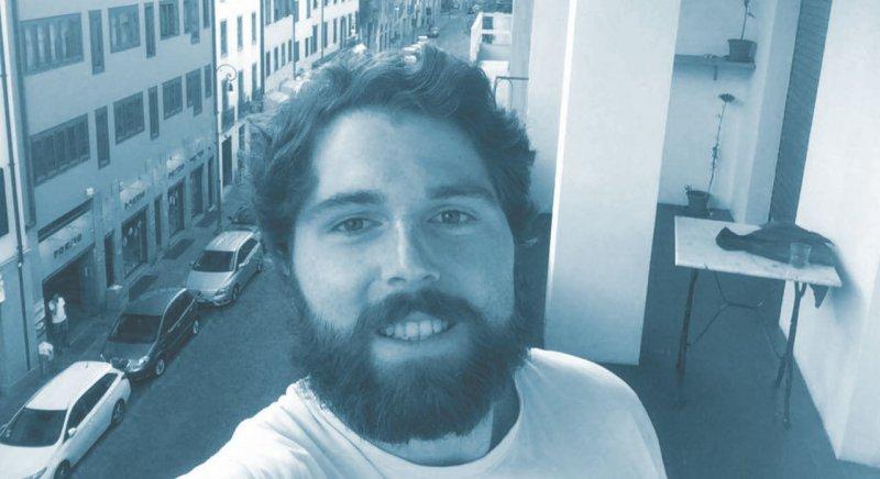 """Halbitaliener"" Fabio Comes absolvierte sein PJ-Tertial in Innerer Medizin in Udine, Italien. Foto: privat"