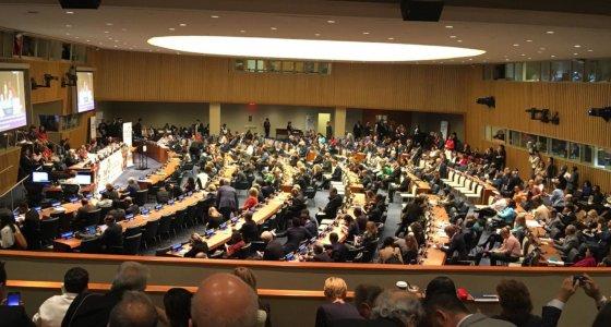 NCD Tagung im UN Hauptquartier in New York 27.9.2018 /NCD Allianz
