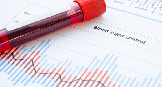 Blutzuckerwerte, dargestellt auf einem Balkendiagramm /gamjai, stock.adobe.com