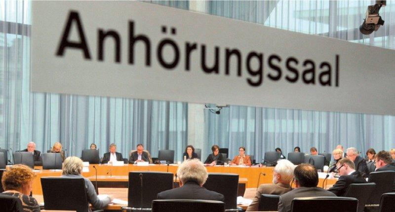 41 Abgeordnete sollen künftig im Gesundheitsausschuss des Bundestags sitzen. Foto: Deutscher Bundestag/Lichtblick/Achim Melde