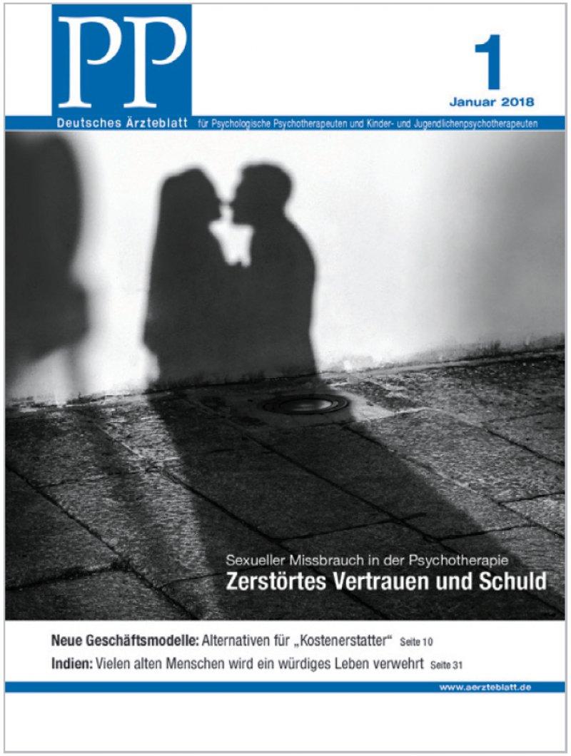 Die Zeitschrift PP – Deutsches Ärzteblatt für Psychologische Psychotherapeuten und Kinder- und Jugendlichenpsychotherapeuten erscheint monatlich. Alle Artikel sind unter www.aerzteblatt.de/pp abrufbar. Interessierte Ärzte können PP auch im Abo beziehen: abo-service@aerzteverlag.de.