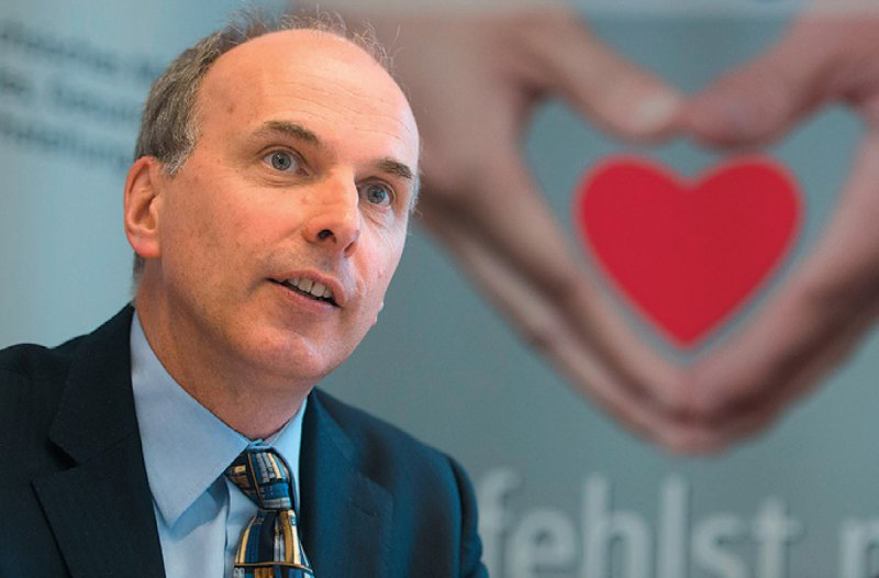 Dr. med. Axel Rahmel, Medizinischer Vorstand der Deutschen Stiftung Organtransplantation. Foto: dpa