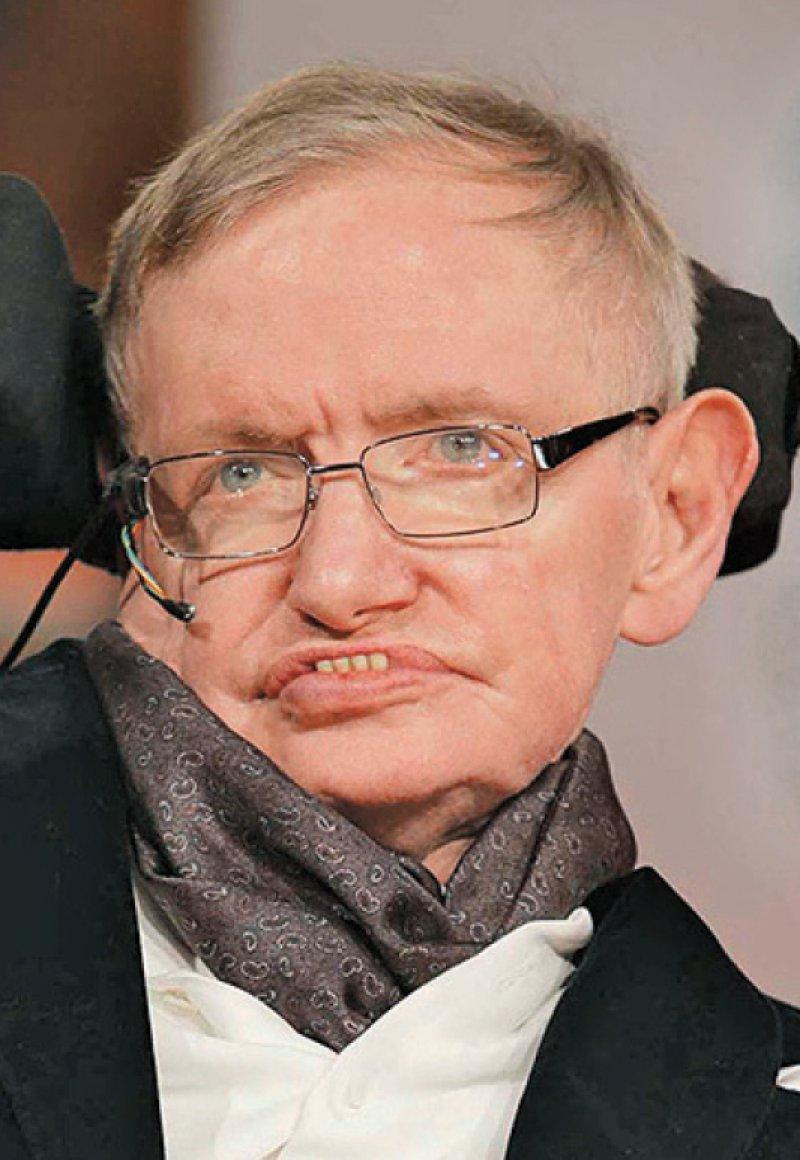 Stephen Hawking, Foto: picture alliance