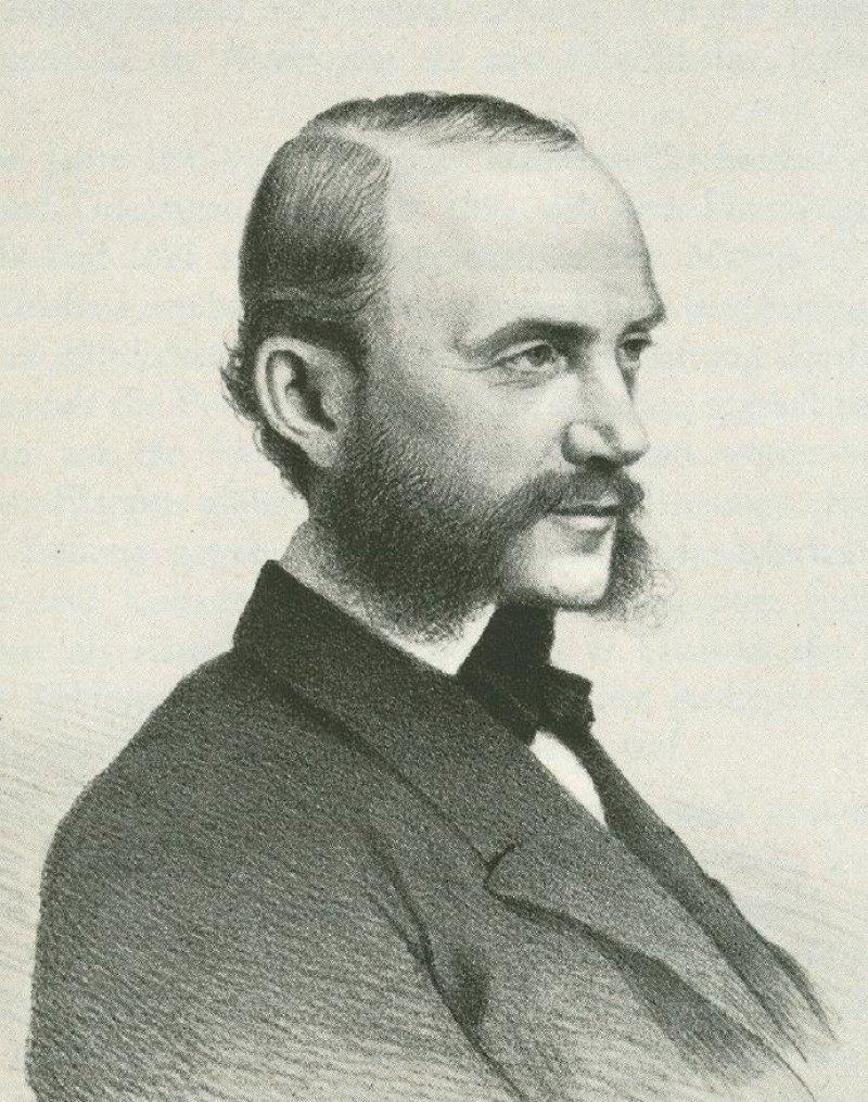 Mit einer Sichtweise, die Psychodynamik und subjektives Erleben einschließt, ist Wilhelm Griesinger seiner Zeit weit voraus. Foto: Wikimedia Commons
