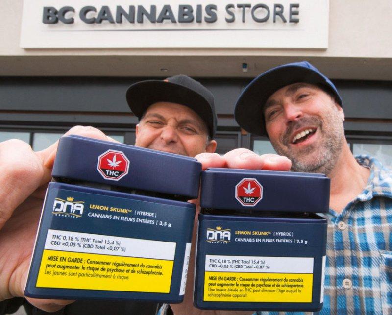 Cannabis ist in Kanada in autorisierten Geschäften frei erhältlich. Foto: picture alliance