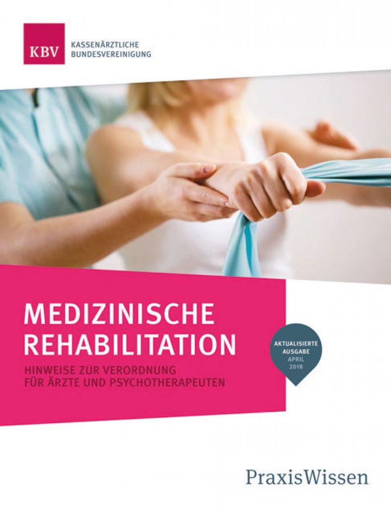 """Die Kassenärztliche Bundesvereinigung hat in ihrer Reihe Praxiswissen """"Medizinische Rehabilitation"""" alle Informationen zu den Antragsverfahren zusammengestellt."""