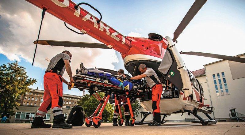 Die Transportzeit von Schlaganfallpatienten soll ab 2019 als Abrechnungsgrundlage eindeutig definiert sein. Foto: picture alliance