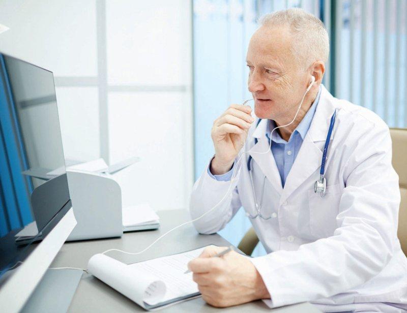 Der Erstkontakt zu Patienten per Videoübertragung ist künftig auch in Sachsen-Anhalt möglich. Foto: shironosov/iStock