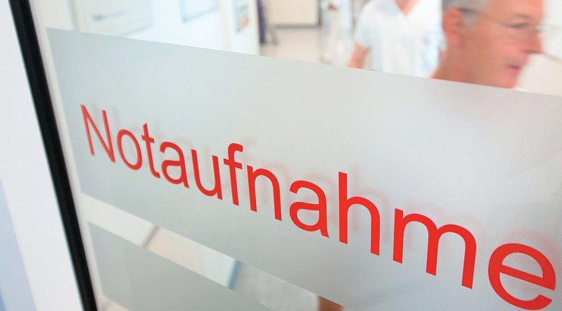 Je nach Versorgungsstufe einer Notaufnahme sind Zuschläge für die Kliniken angedacht. Foto: dpa
