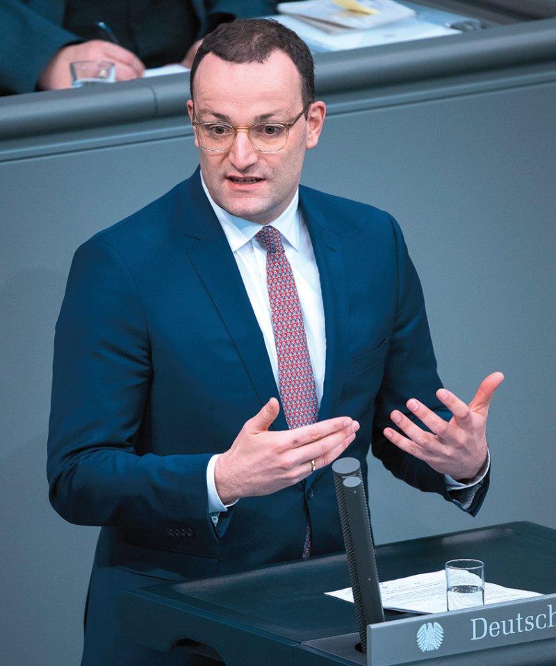Bundesgesundheitsminister Jens Spahn warb im Bundestag für den Vorschlag, bei der Organspende künftig eine Widerspruchslösung einzuführen. Foto: dpa