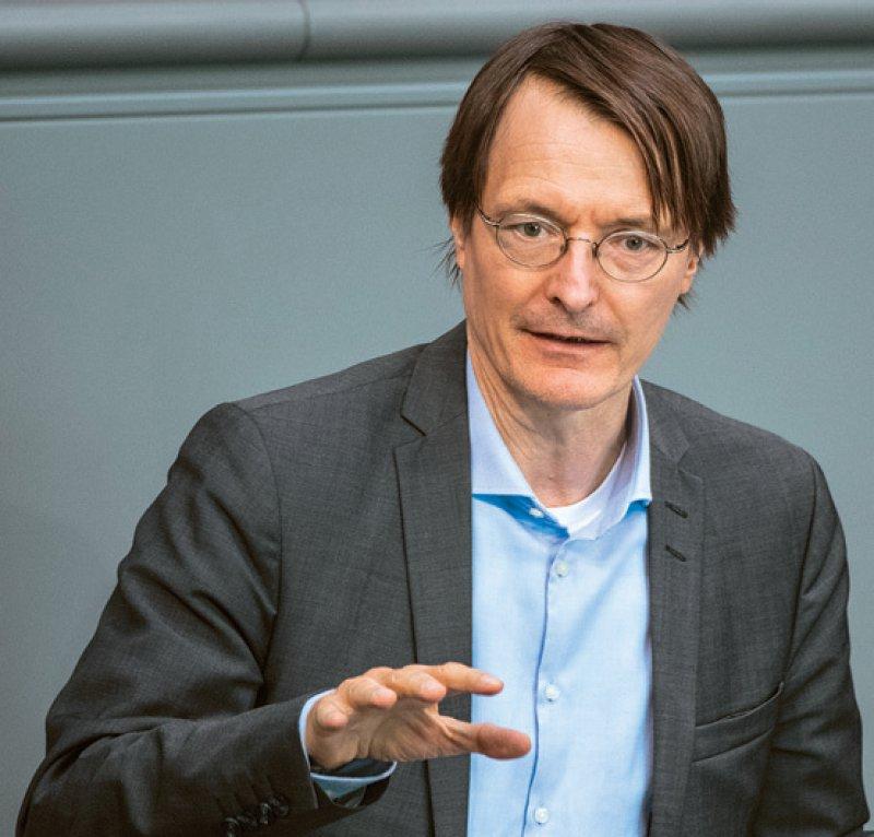 Karl Lauterbach, SPD-Gesundheitspolitiker, hat noch Redebedarf bei der Reform des Morbi-RSA. Foto: dpa