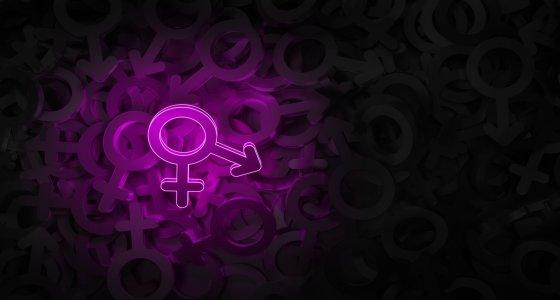 Konzeptkunst zum Thema transgender 3D-Illustration  /ParamePrizma, stock.adobe.com