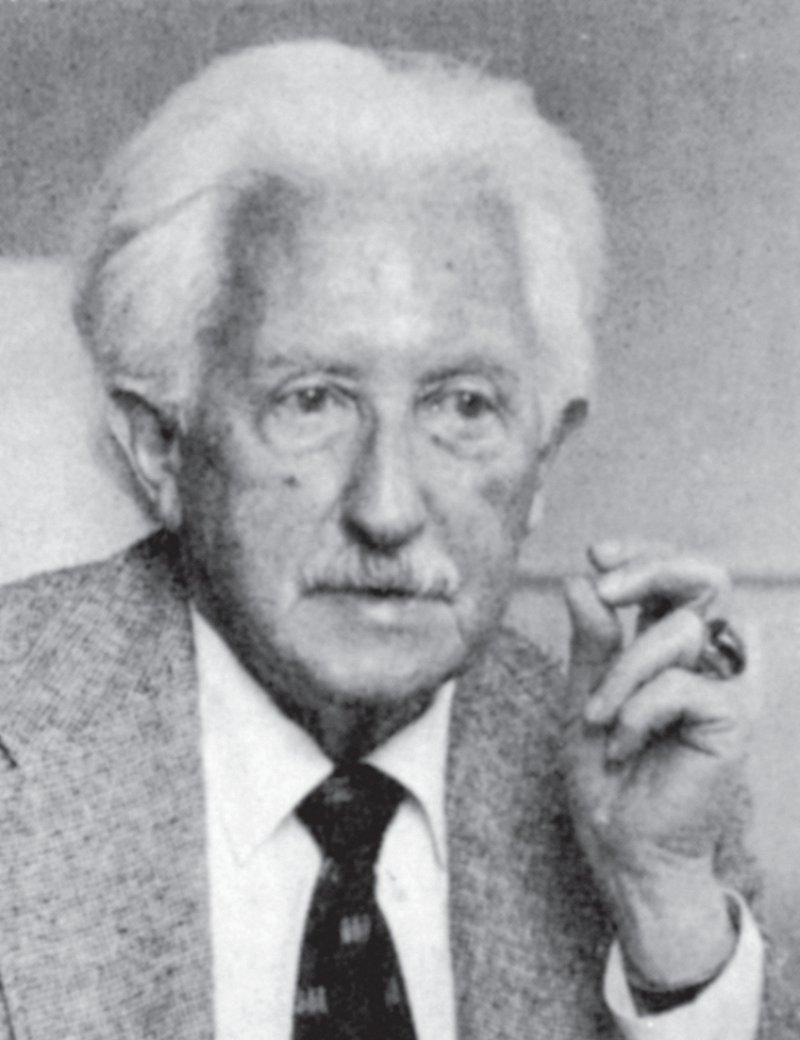 """""""Die Psychoanalyse muss neben der Autonomie des Ichs auch eine Autonomie des sozialen Geschehens anerkennen."""" Erik H. Erikson, 1957. Foto: ullstein"""