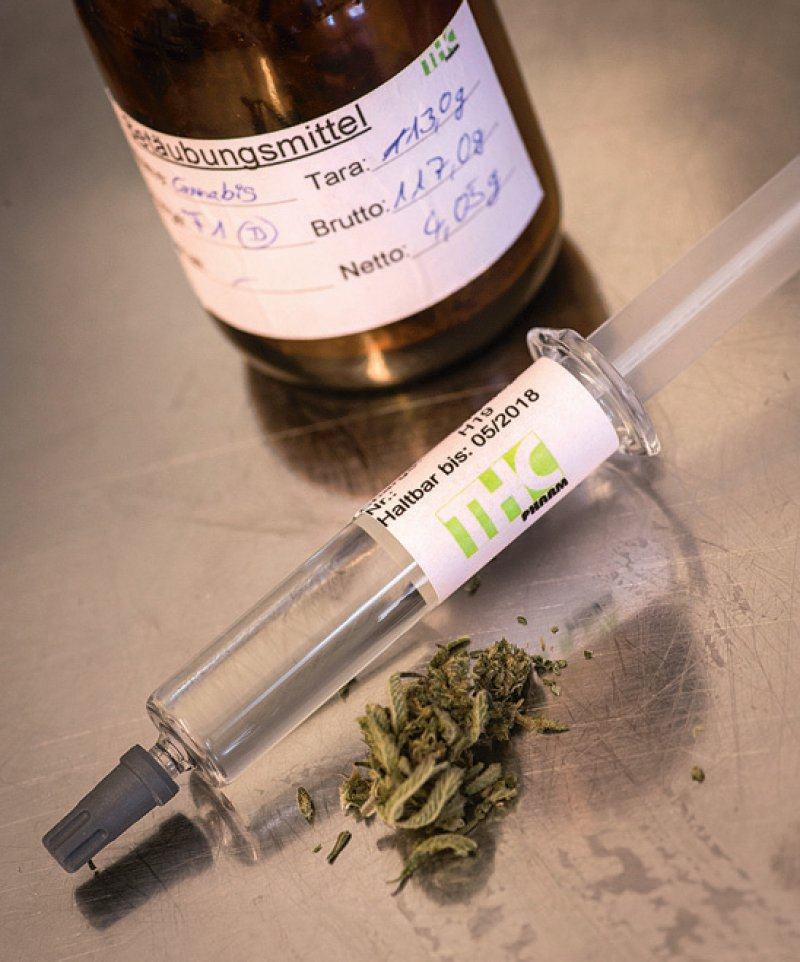 Dronabinol wurde von Ärzten am häufigsten verordnet, zeigt die Begleiterhebung. Foto: dpa