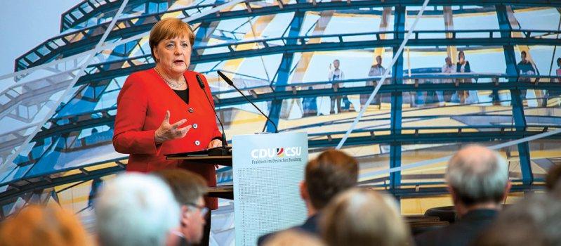 Bundeskanzlerin Angela Merkel (CDU) räumt der globalen Gesundheit einen hohen Stellenwert ein. Foto: dpa
