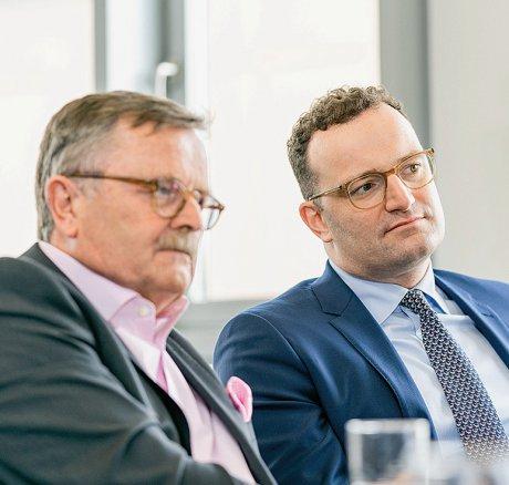 Interview mit Jens Spahn und Frank Ulrich...