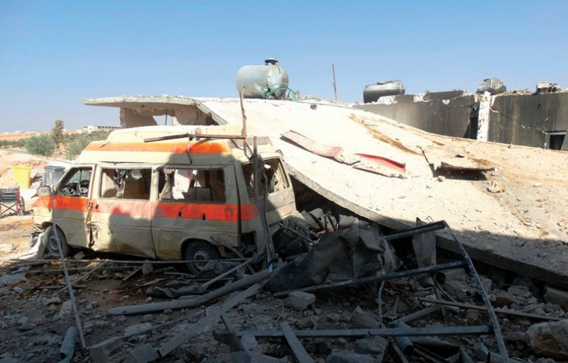 Alleine in Syrien hat es im vergangenen Jahr 257 Angriffe auf medizinische Einrichtungen gegeben. Foto: picture alliance