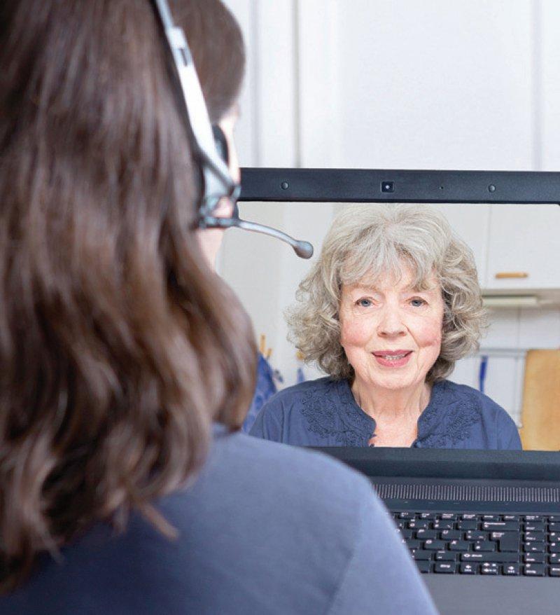 Die Videobehandlung bietet Chancen für eine bessere psychotherapeutische Versorgung. Foto: agenturfotografin/stock.adobe.com