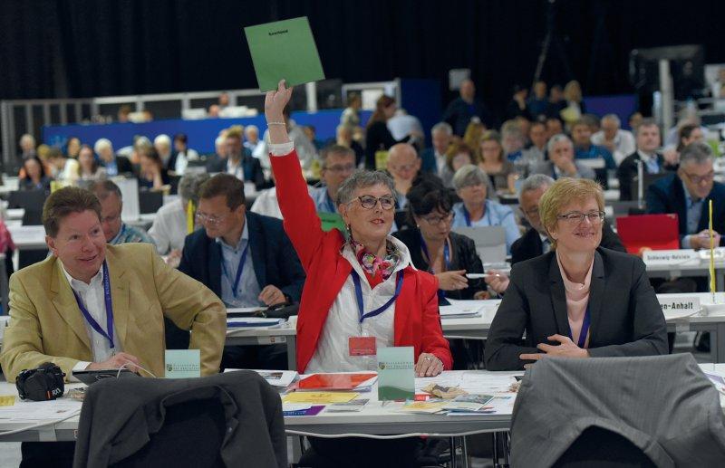 Einstimmig entlasteten die Delegierten den Vorstand der Bundesärztekammer.