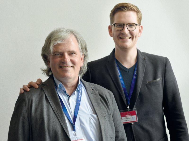 Vater und Sohn: erstmals gemeinsam als Abgeordnete auf dem Deutschen Ärztetag