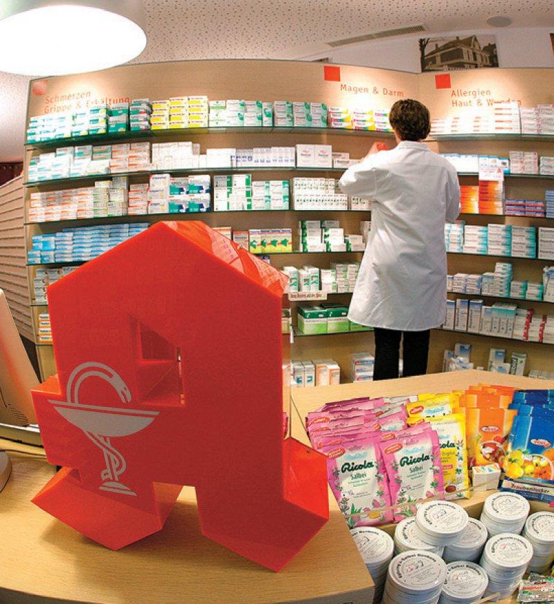 Auch Kleinstgeschenke dürfen von Apotheken bei rezeptpflichtigen Medikamenten nicht mehr abgegeben werden. Foto: dpa