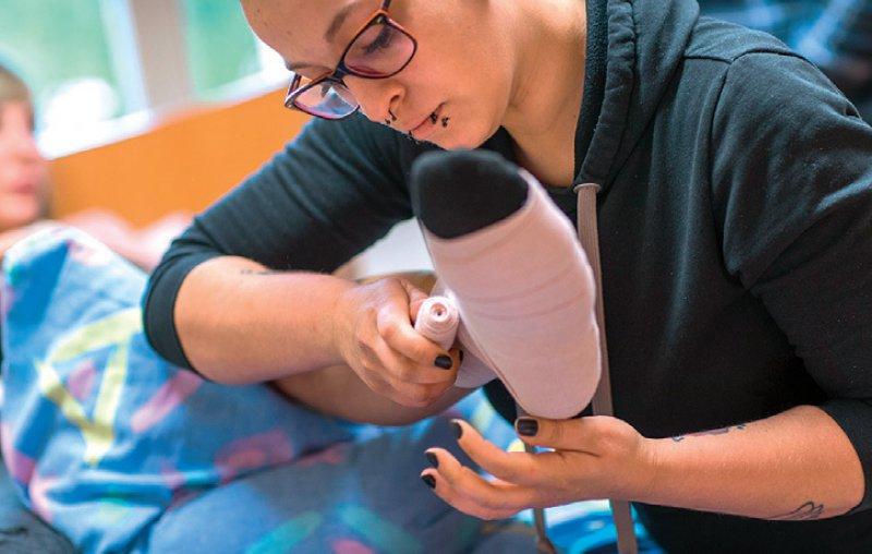 Die neue Ausbildung soll ab 2020 gelten. Foto: picture alliance/Jens Büttner/dpa-Zentralbild
