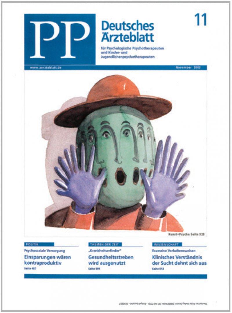 """Thomas Huber: """"Größenwahn und Kreativität"""", 1998. Zu sehen in der Ausstellung und als PP-Titelbild, 11/2003"""