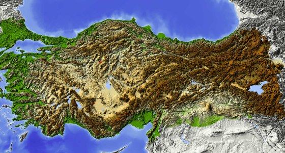 Karte der Türkei /Arid Ocean Stock.Adobe.com