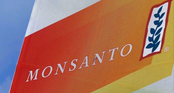 Logo der Firma Monsanto/dpa